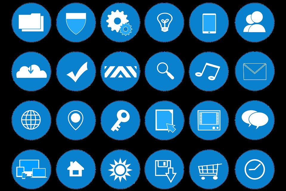 Free Photo Web Development Icons Flat Website Design Max Pixel