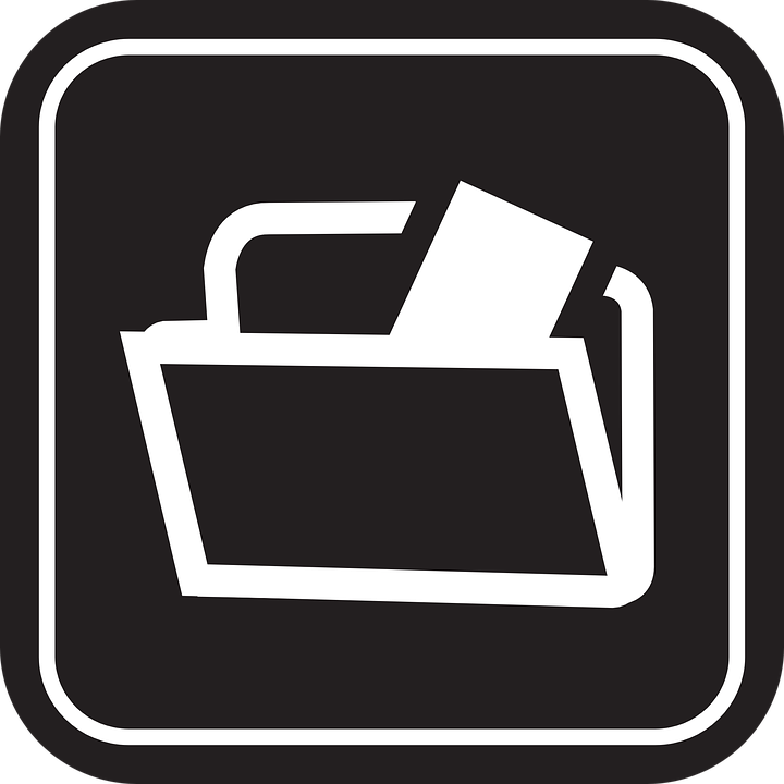 Documents, Symbol, Icon, Black, Document, Business, Web