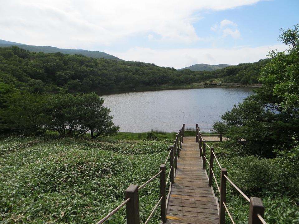 Jeju Island, Korea, Web, Lake