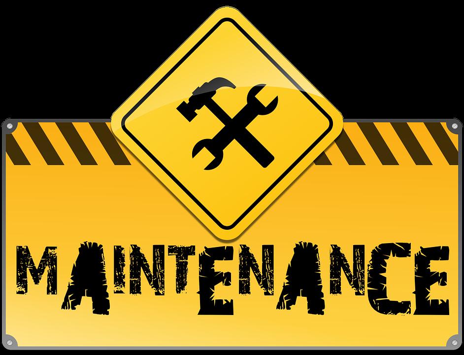 Maintenance, Under Construction, Web Site, Web Page