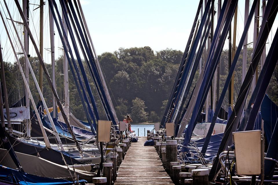 Web, Jetty, Boardwalk, Pier, Investors, Dock, Chiemsee