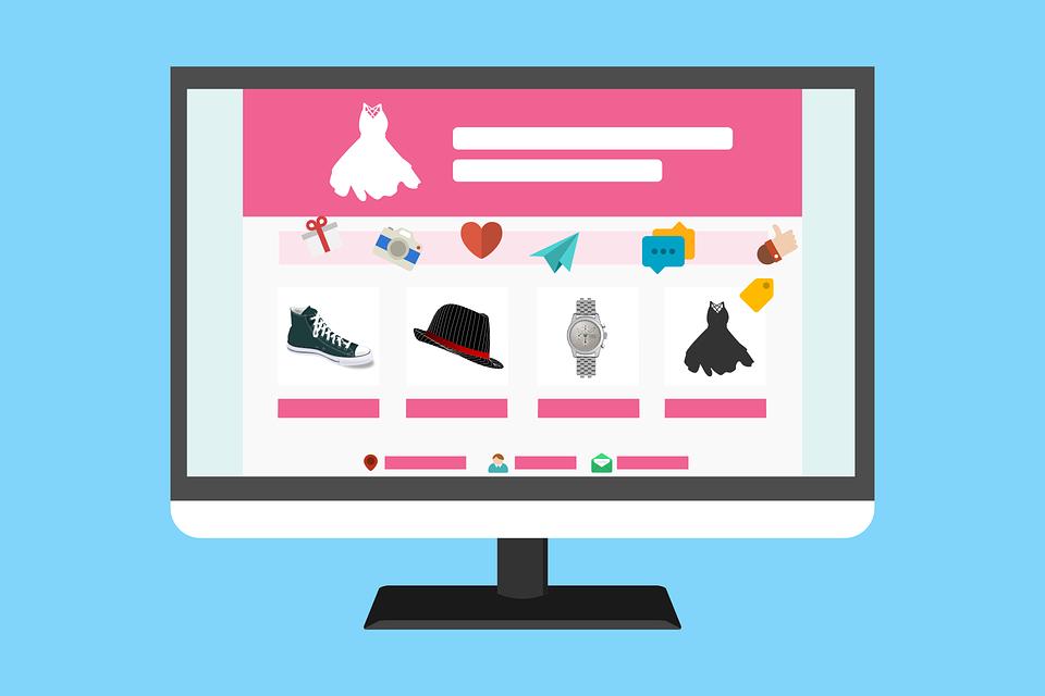 Template, Layout, Website, Blog, Theme, E-commerce