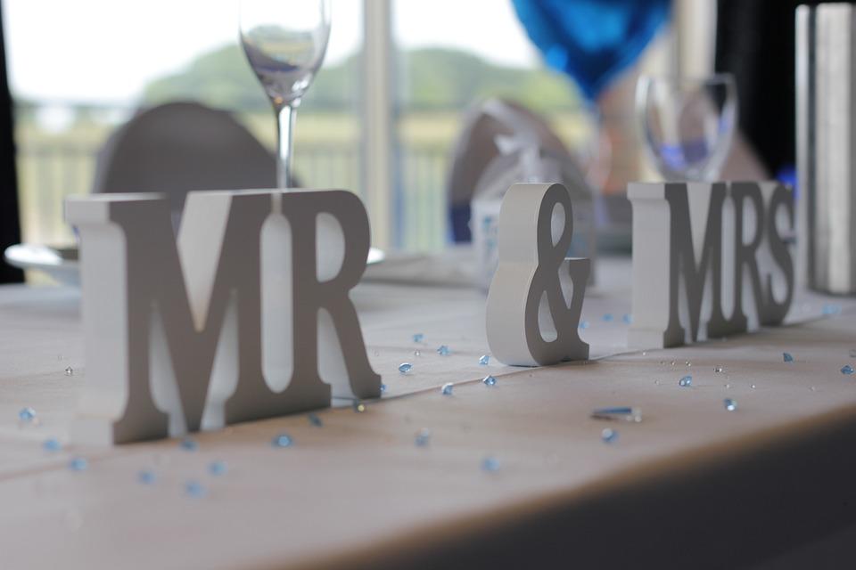 Wedding, Mr, Mrs, Bid Day, Marriage