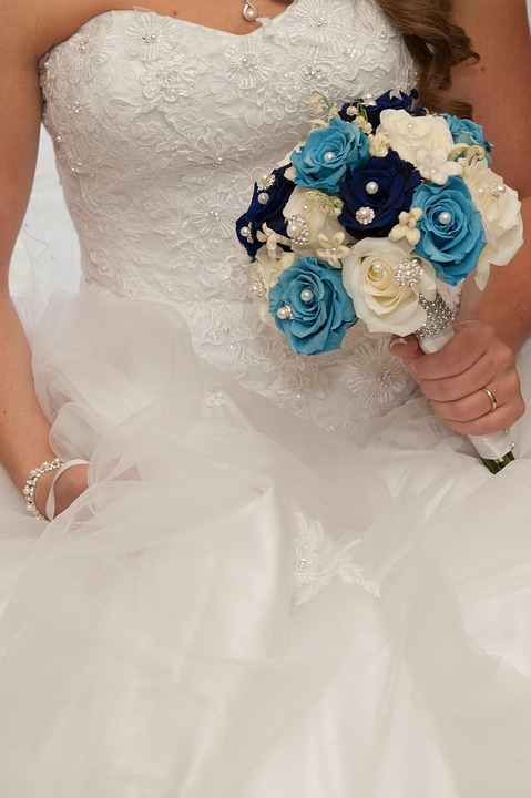 Wedding, Bouquet, Flowers, Bride