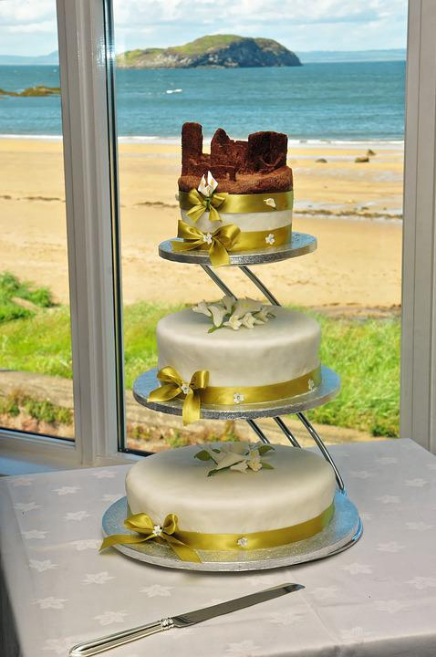 Wedding, Wedding Cake, Cake, Food, Sweet, Celebration
