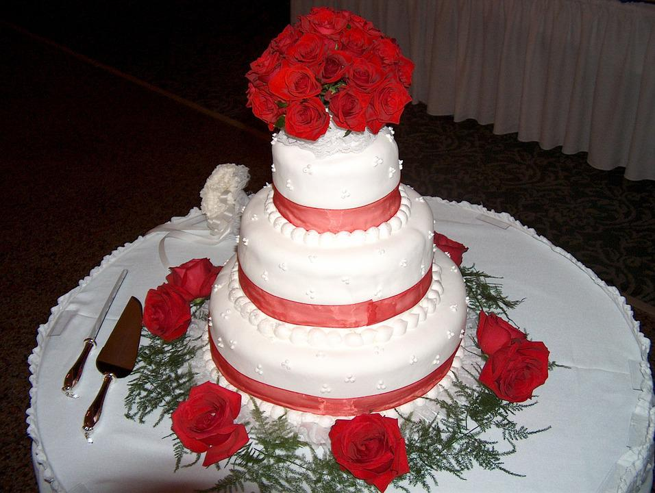 Wedding Cake, Cake, Food, Marriage, Dessert, Wedding
