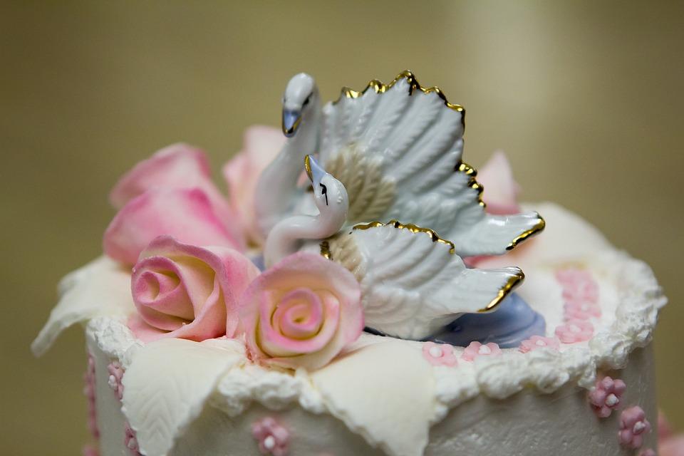 Wedding, Cake, Wedding Cake, Tip, Swans, Baking