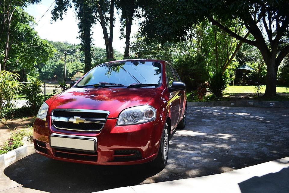 Car, Red Car, Vehicle, Hotel, Visitors, Wedding