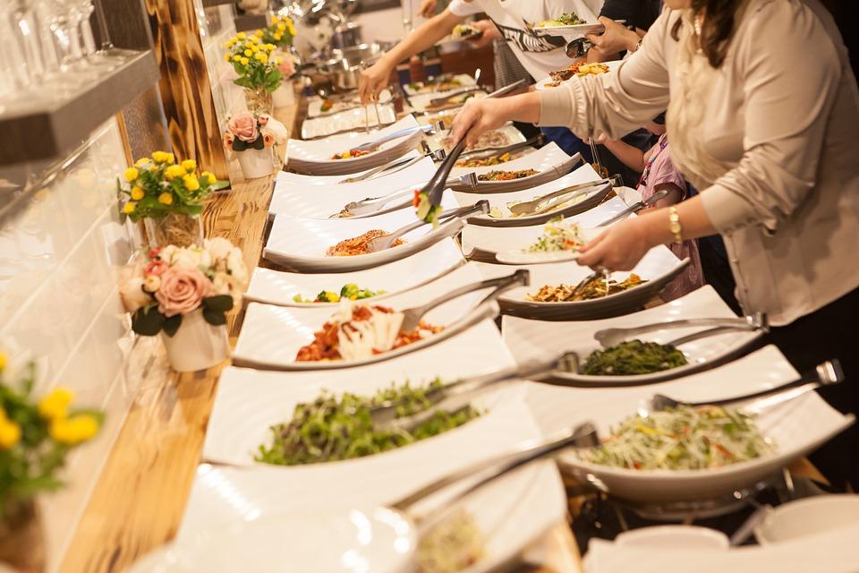 Buffet, Korean Food, Birthday, Wedding Ceremony, Food