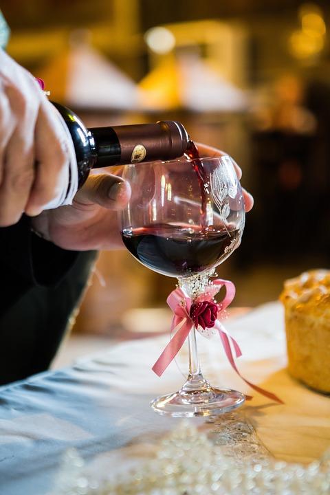 Cup, Wine, Wedding
