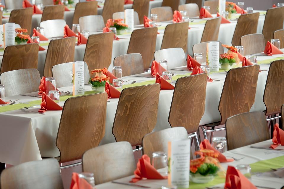 Banquet, Wedding, Society, Deco, Hall, Eat