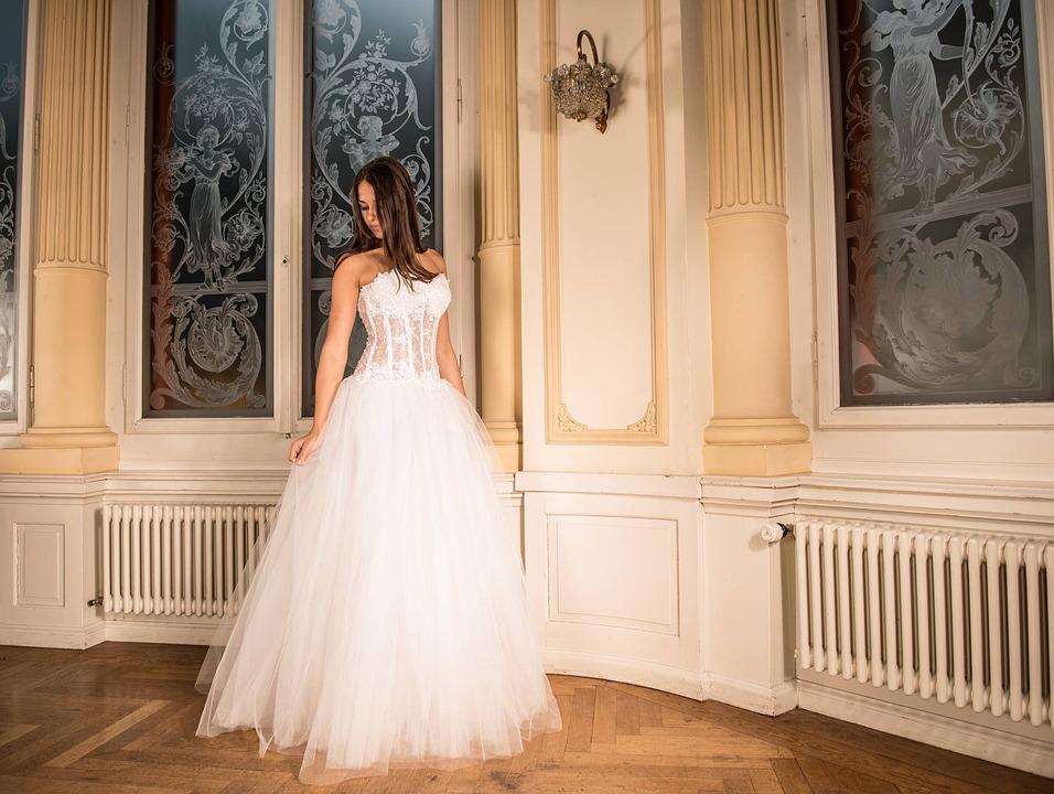 Wedding Dress, Bride, Marriage, Woman, Girl, Model