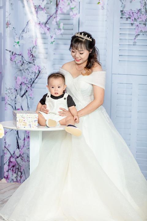 Free photo Wedding Dress Son Portrait Woman Bride Girl - Max Pixel
