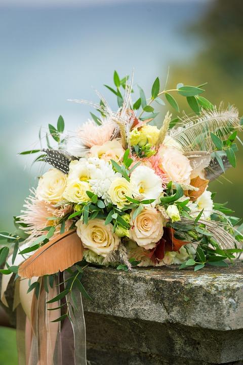 Free photo Wedding Flowers Bouquet Marriage Love Romantic - Max Pixel