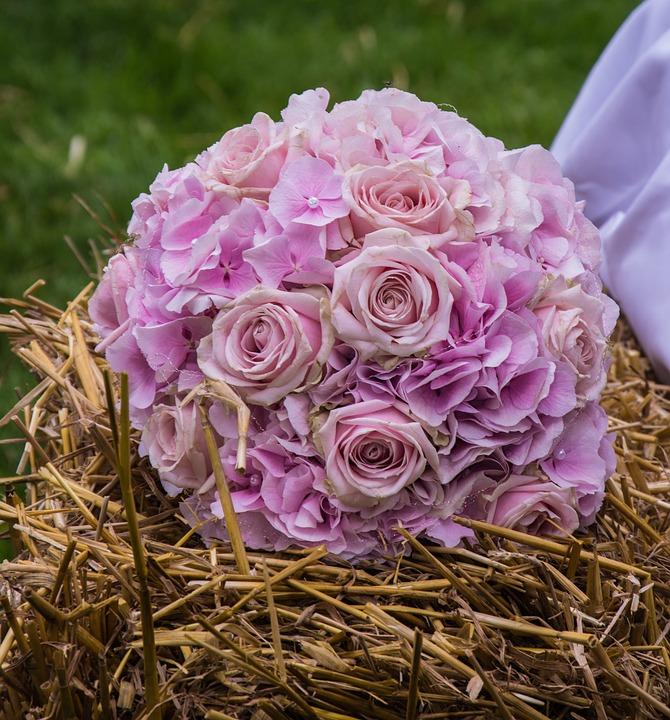 Wedding Bouquet, Bouquet, Wedding, Flowers