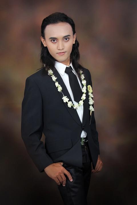 Man, Groom, Indonesian, Java, Party, Wedding, Male