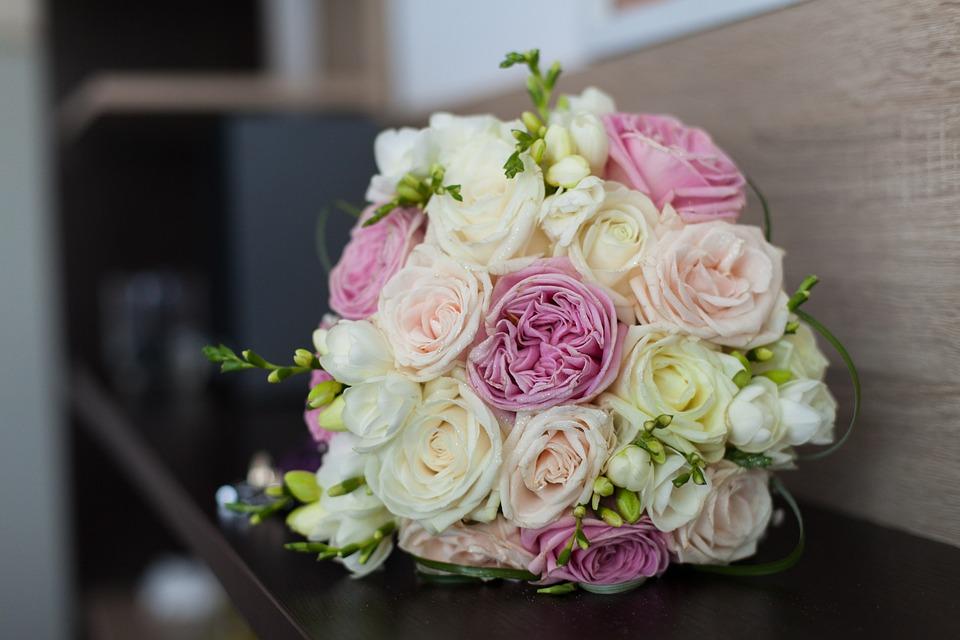 Free photo Wedding Love Bridal Bouquet White Marriage Bride - Max Pixel