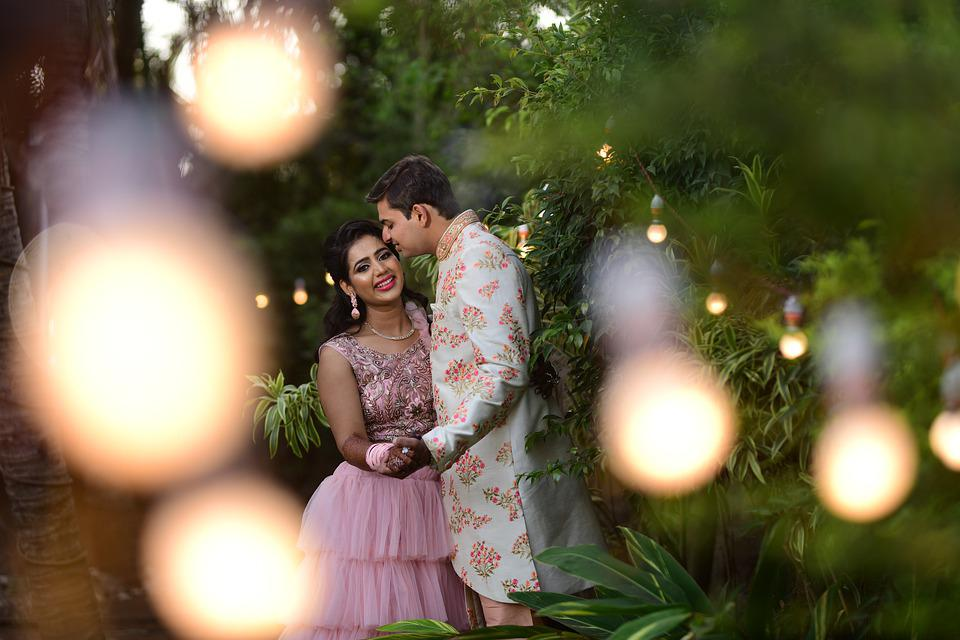 Indian, Couple, Wedding, Hindu, Love, Marriage, India