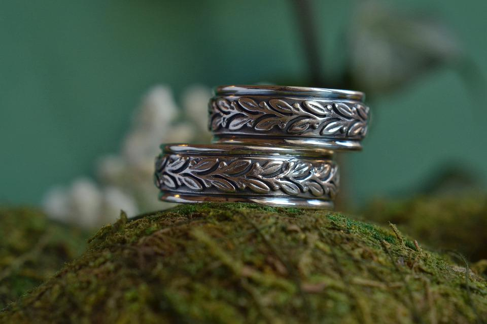 Ring, Rings, Silver, Wedding, Love, Marriage, Jewelry