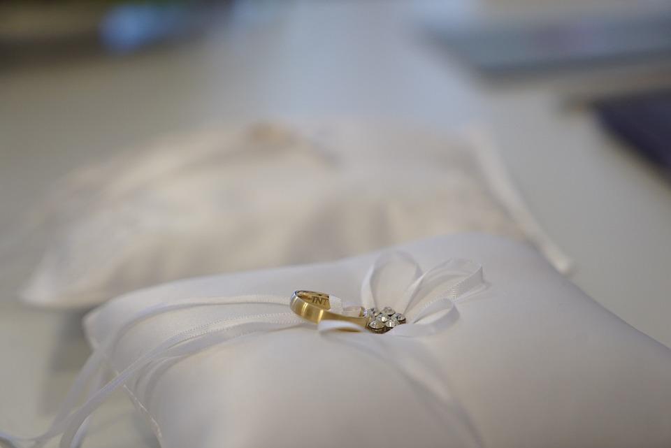 Wedding Rings, Marriage Ceremony, Marry, Wedding