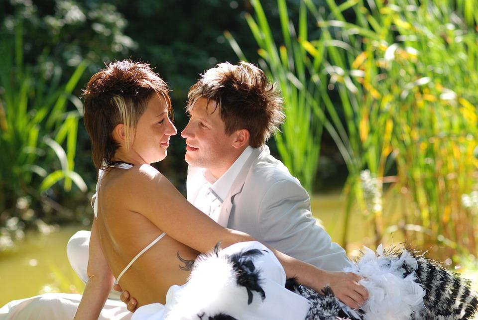 Wedding, Couple, In Love, Love, Wedding Photo, Romantic