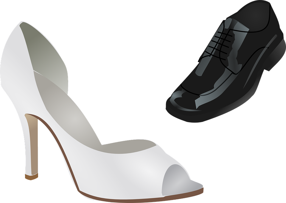 Shoes, Wedding, Stiletto, High Heeled Shoe