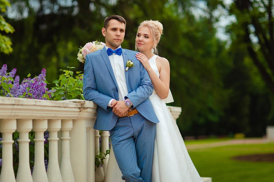 Wedding, Bride And Groom, The Happy Couple