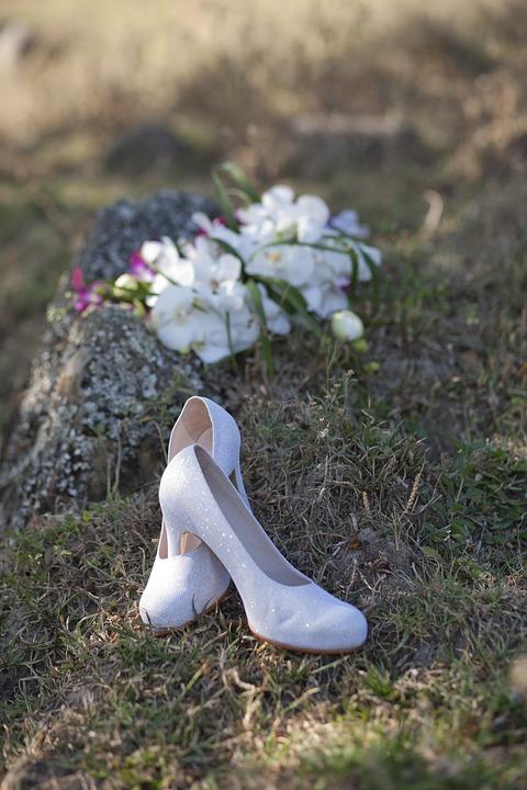Shoes, Whites, Marriage, Wedding
