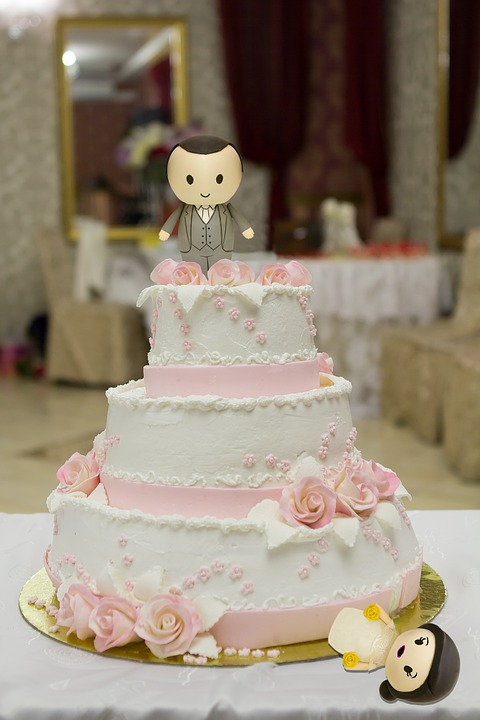 Wedding, Marriage, Cake, Wife, Husband, Spouse, Bride