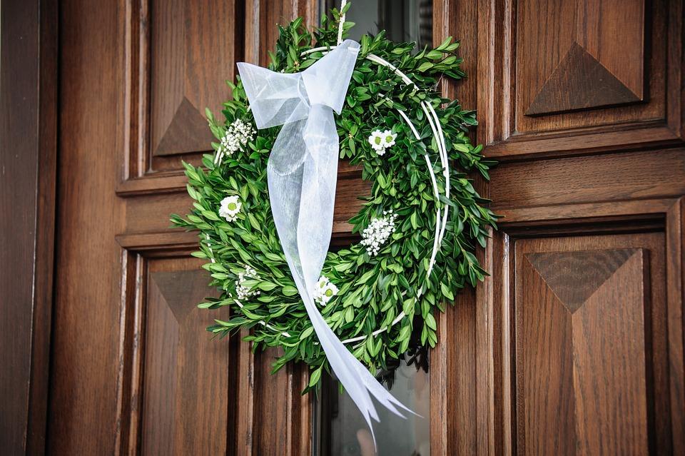 Wreath, Wedding, Loop, Marry, Wedding Wreath