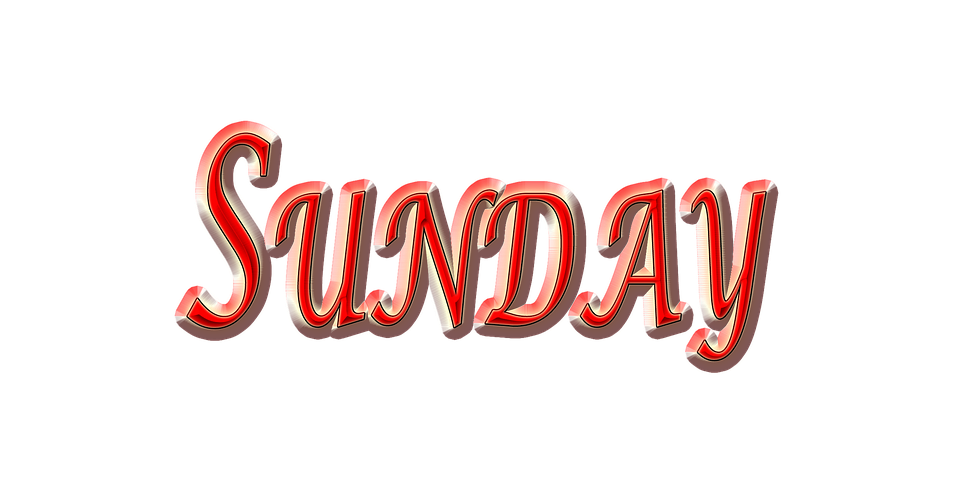 Sunday, Weekend, Day, Red Sunday Weekend