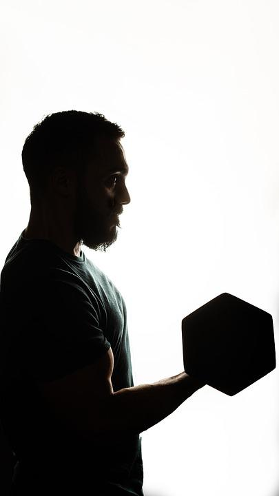 Man, Weight, Gym, Crossfit, Fitness