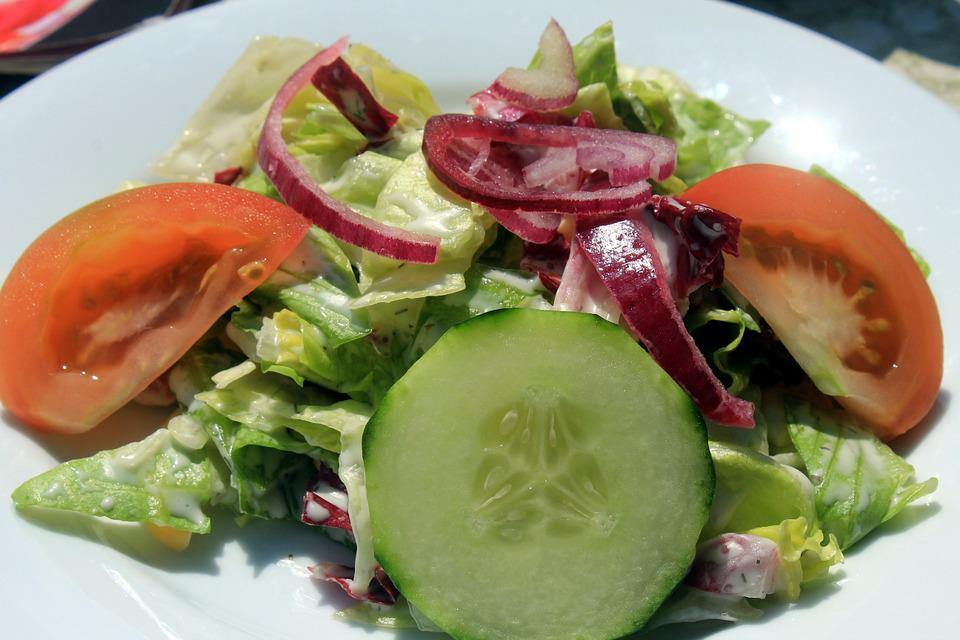Salad Frisch Food Diet Bless You Meal Weight Loss