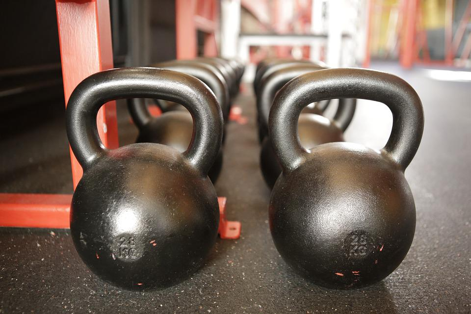 Sport, Fitness, Training, Weight, Dumbbell, Kettlebell