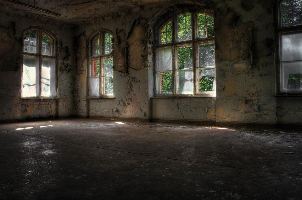 Lost Place, Leave, Decay, Building, Gloomy, Weird