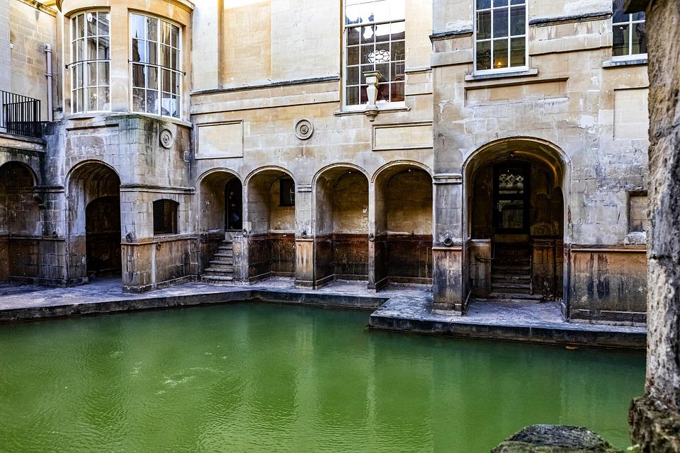 Bath, Roman, Antiquity, Wellness, Cure, Water, Healing