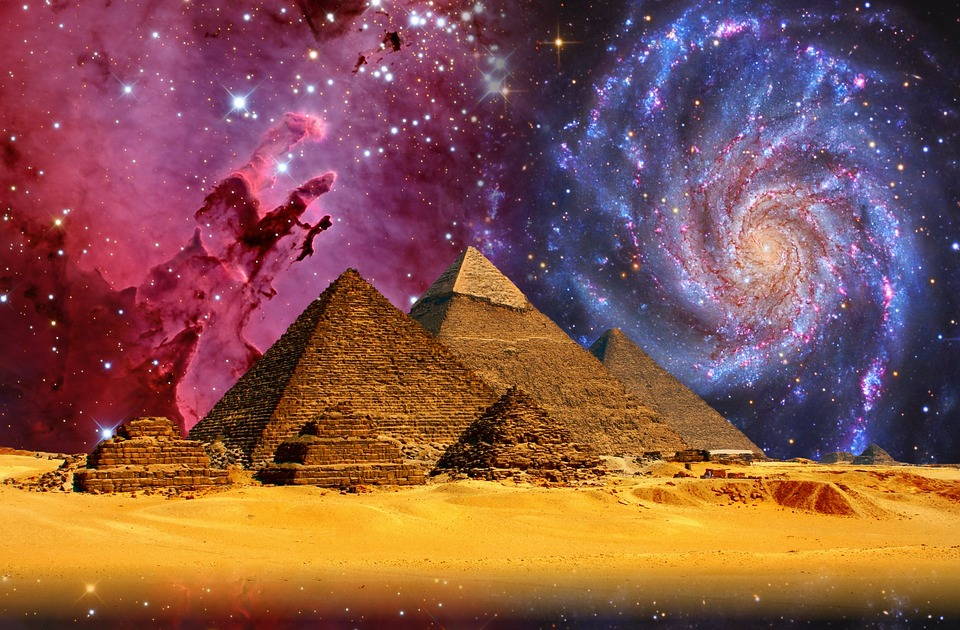 Gizeh, Pyramids, Cheops, Egypt, Weltwunder, Sphinx