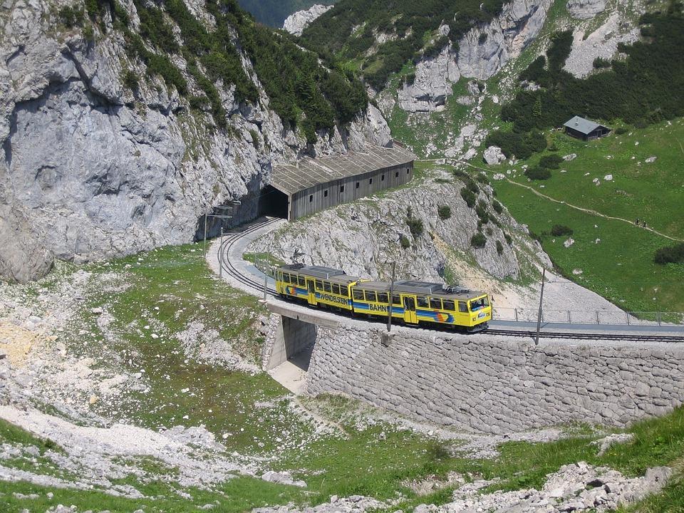 Bavaria, Wendelstein, Spiral Stone Railway