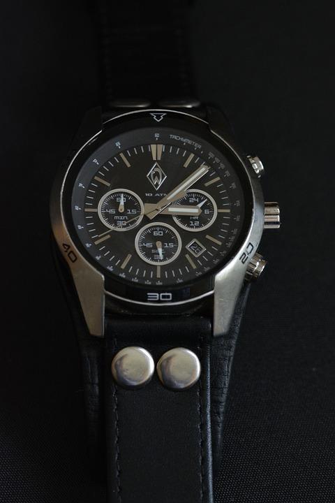 Clock, Chronograph, Werderbremen, Fanartikel