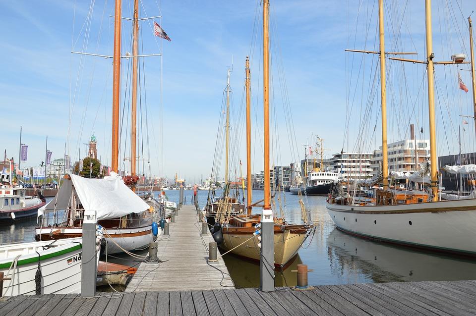 Bremerhaven, Weser, North Sea, Port, Maritime, Ship