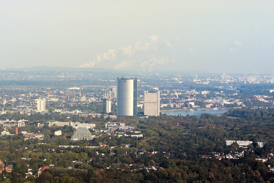 Deutsche Post, Posttower, Bonn, Wesseling, Industry