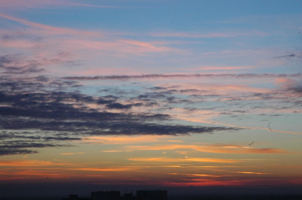 Clouds, Sky, The Sun, View, Cloud, West, West Invites