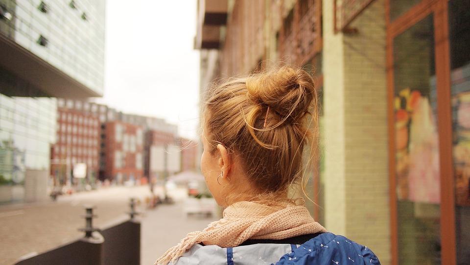 Girl, Hair, Travel, City Trip, Amsterdam, Westerdok
