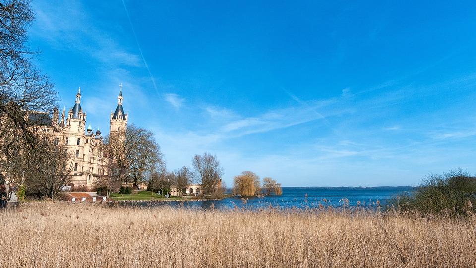 Castle, Schwerin, Mecklenburg, Western Pomerania