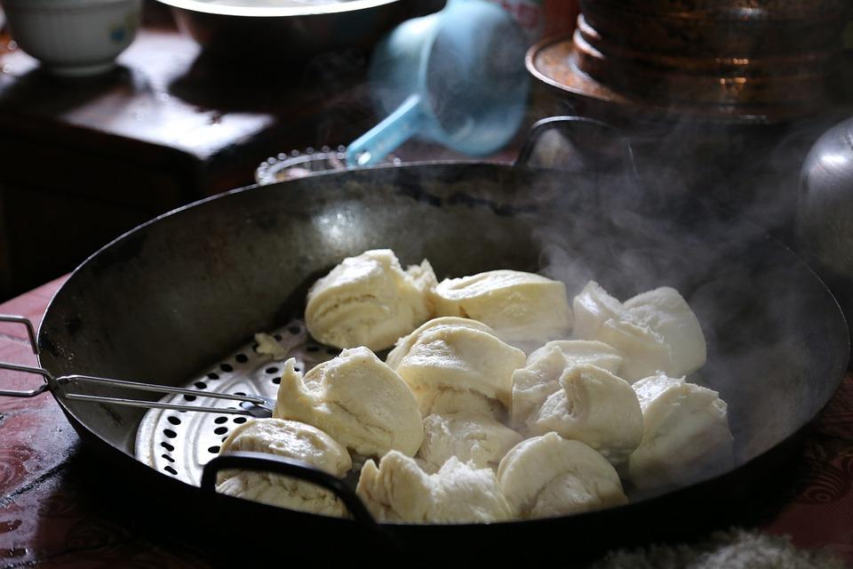 Steamed Bread, Tibet, Western Sichuan