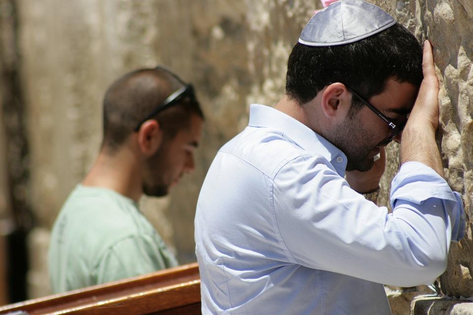 Prayer, Wailing Wall, Western Wall, Man, Vera, Judaism