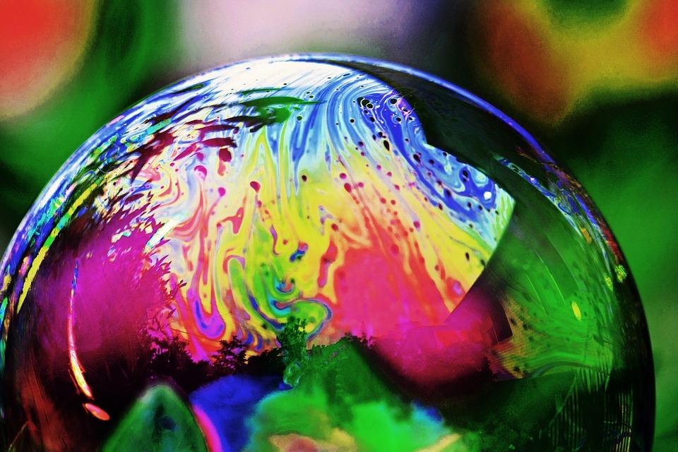 Bubble, Reflection, Bubbles, Wet, Colorful, Soap