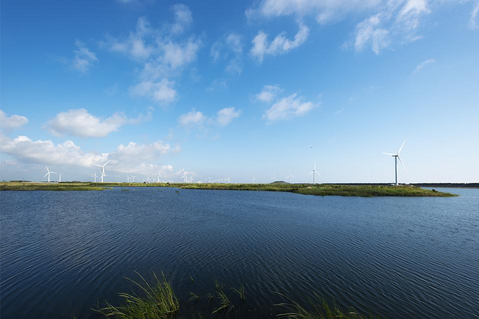 Lake, The Water, Wetland Park, Gold Beach Scenic Area