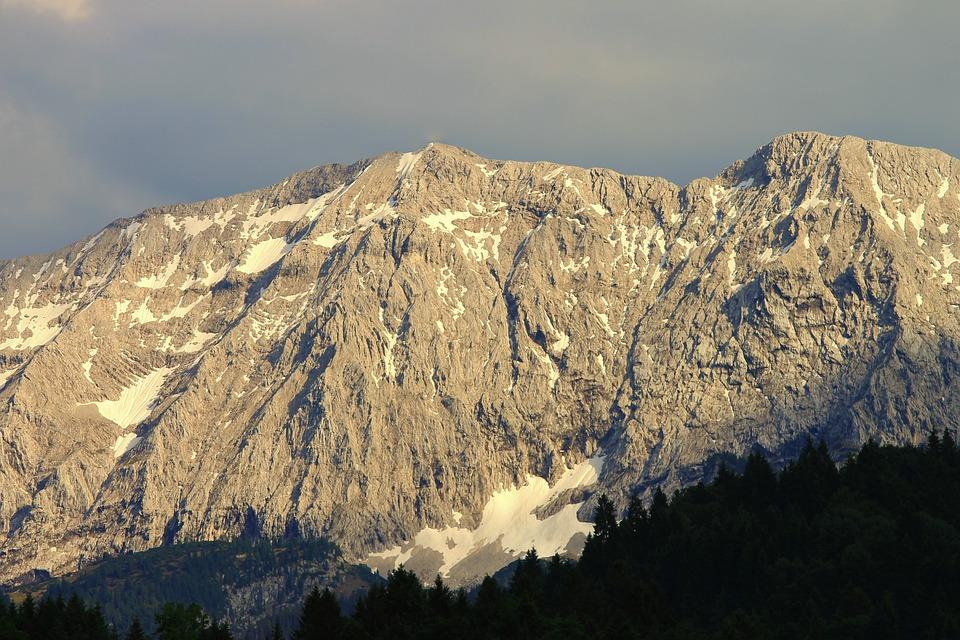 Wetterstein Mountains, Alpine, Germany, Mountains