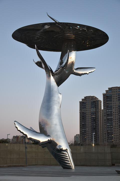 Sheraton, Yantai, Golden Beach Resort, Whales